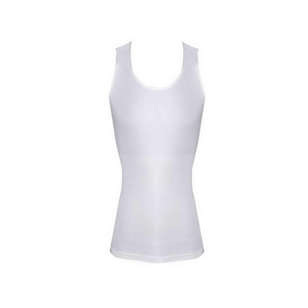 남성 바디 슬리밍 배꼽 셰이퍼 배꼽 속옷 shapewear 허리 거들 셔츠 조끼 셔츠 코르셋 압축 건강 미용 디자인