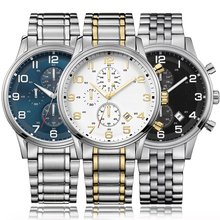 AAA Men's Chronograph Watch Black Sport Watches