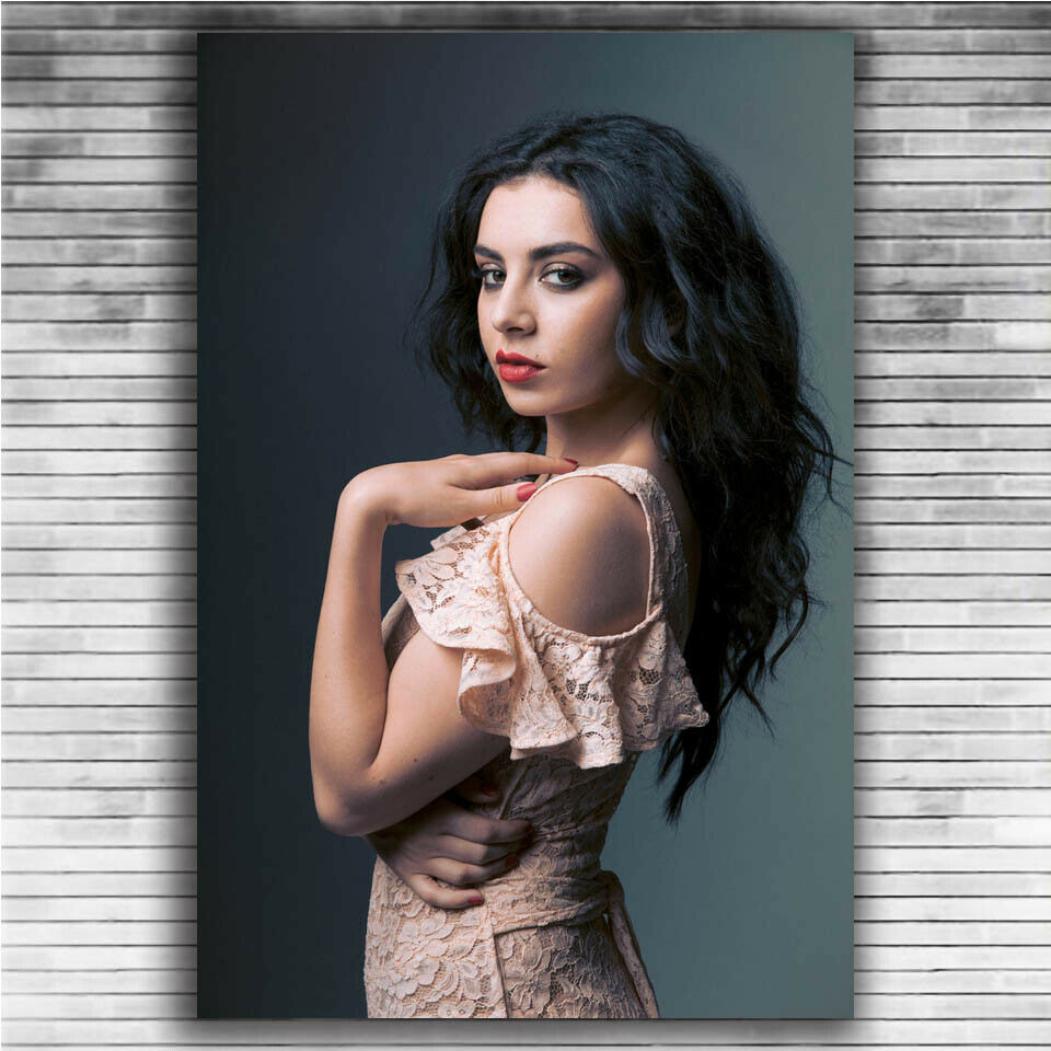 Details about  /H-1068 Charli XCX Music Singer Star Fashion Wall Silk Poster