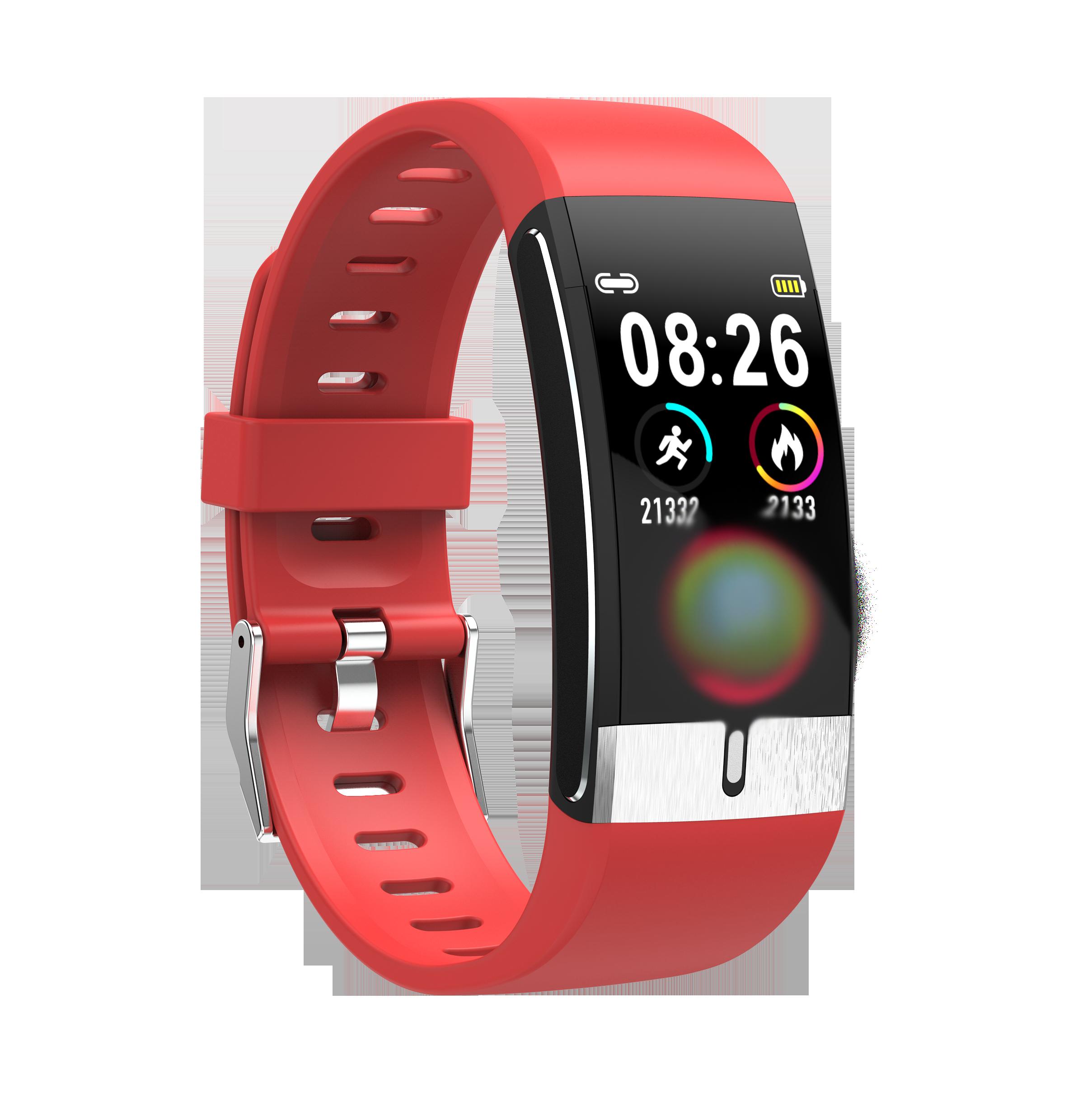 E66 Smart Watch Men Body Temperature ECG PPG Waterproof Sport Bracelet Blood Oxygen Heart Rate Smartwatch For IOS Android Phone