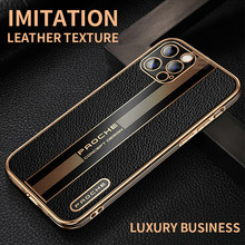 Chapeamento de luxo moldura quadrada caso silicone macio para o iphone 12 11 pro max mini se 2020 x xs xr 7 8 plus negócios à prova de choque capa