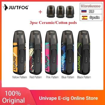 Nowe kolory zestaw JUSTFOG MINIFIT Pod zestaw do e-papierosa w 370mAh baterii i 1 5ml wkład System Pod pod zestaw do e-papierosa vs przeciągnij Nano vinci X tanie i dobre opinie Z Baterią MINIFIT Starter Kit JUSTFOG KIt 700 mAh Wbudowany 21 x 15 x 70mm 1 6ohm DV 5V via USB Black Red Silver