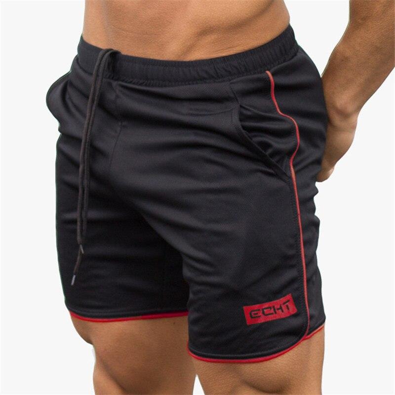 2019 Summer Mens Running   Shorts   Breathable Men Gym   Shorts   Slim Fit Dry Bodybuilding   Short   Pants Beach Pants Elastic Waist   Shorts