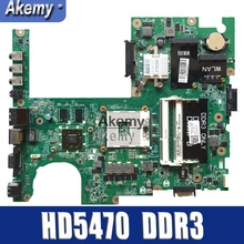 CN-04DKNR 04 DA0FM9MB8D1 Principal Board For DELL Studio 1558 Laptop Moederbord 4 Dknr HD5470 DDR3 Cpu Livre