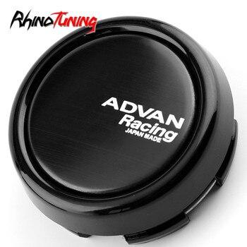 4 шт. 79 мм 73 мм Advan гоночное автомобильное колесо колпачки для дисков Advan RZ DF центр CapHub эмблема аксессуары