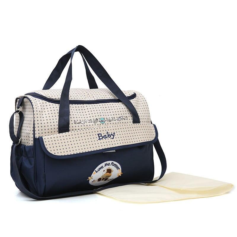 Large-Volume Environmentally Friendly Diaper Bag Multi-functional Shoulder Handbag Pregnant Women Bag Carrying Case