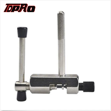 купить TDPRO Bike Bicycle Steel Chain Breaker Remover Riveting Tool Splitter Cutter Repair Tools For 520 525 530 630 T8F Pitch Chains дешево