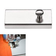 Localizador de imán de costura de Metal, guía de costura, manómetro magnético para piezas de máquina de coser, herramienta de bricolaje para el hogar, 53x24