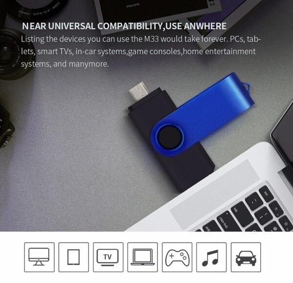 New Pendrive 128gb Usb Flash Drive 64gb Flash Disk 8gb 32gb 4gb OTG Pen Drive 16gb Phone OTG flash memory stick Free custom logo (36)