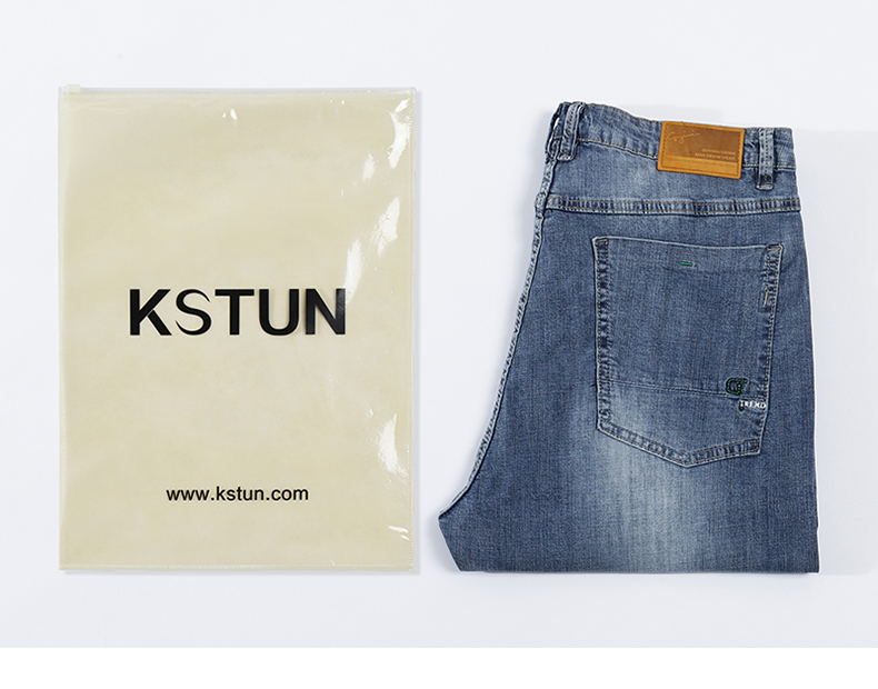 KSTUN Ripped Jeans Men Stretch Light Blue Ultrathin Distressed Man Rip Jean Slim Fit Hip hop Casual Denim Pants Male Biker Jeans 21