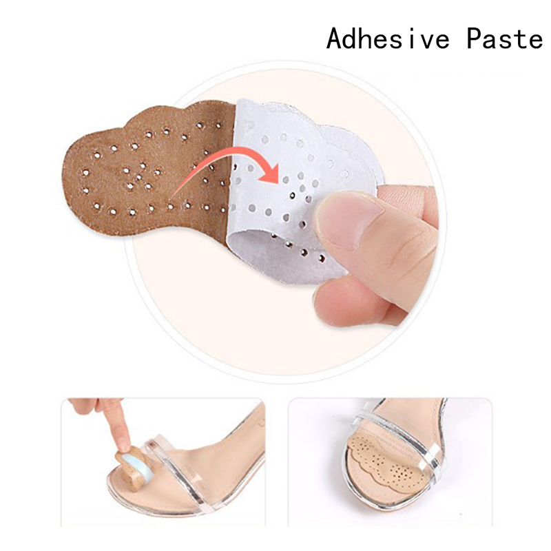 Shoe Anti Slip Soft Breathable Sticker Women Non Slip Insole Forefoot Cushion Inserts Anti-Wear High Heels Foot Care Tool