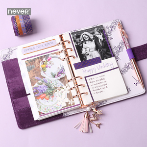 Image 2 - Never Mermaid Series A6 Journals and Notebooks Spiral Planner Organizer Diary Book Set Ofice and School Supplies Gift Stationery