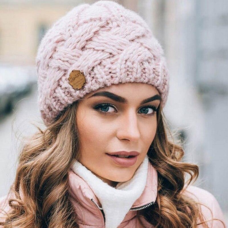 Новинка 2020, Лидер продаж, осенне-зимняя шерстяная шапка для мужчин и женщин, плотная вязаная шерстяная шапка в клетку