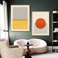 Абстрактные формы геометрическое Искусство Плакат и печать на холсте картины на стену для интерьера дома гостиной Декор