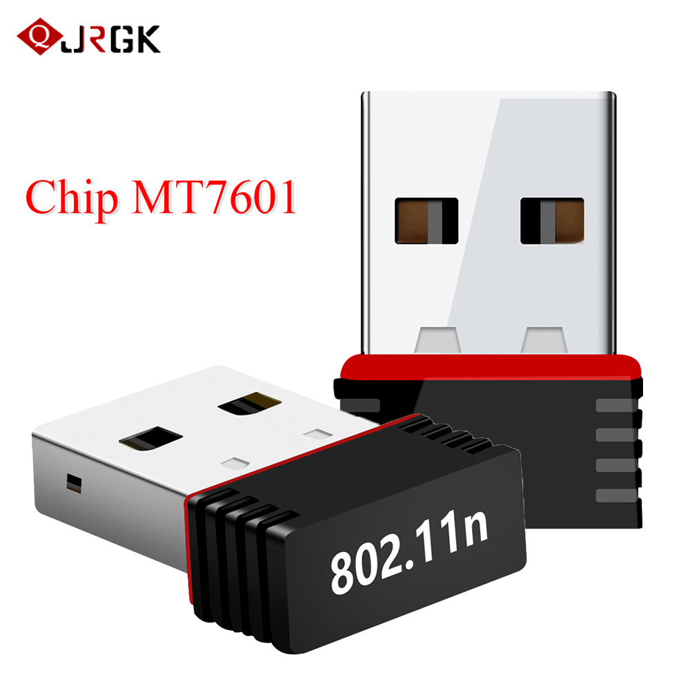 Mini Wireless USB Wifi Adapter 2.4GHz WLAN Network Card  802.11n/g/b 150Mbps WiFi Receiver For Laptop PC Windows XP