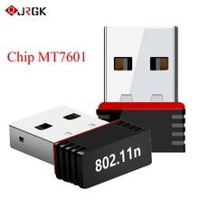 Mini Wireless USB Wifi Adapter 2.4GHz WLAN Scheda di Rete 802.11n/g/b 150Mbps WiFi Ricevitore per computer portatile del PC Finestre XP