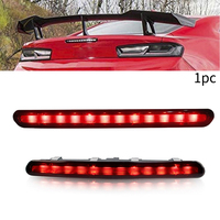 Waterproof smoke lens High Mount 3rd Third Car Rear Brake stop Tails Light Lamp Durable For Chevrolet For 2016 Up Camaro