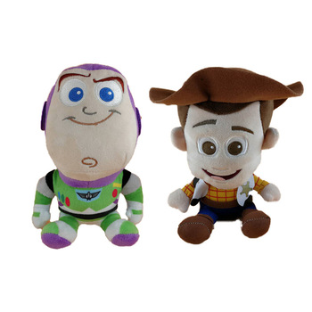 20CM Disney Pixar Toy Story 4 Woody Buzz Plush Stuffed Animal Soft Doll Toys Children Gift