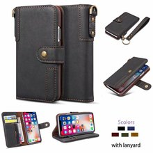 Leather Flip Case For Samsung Galaxy S20