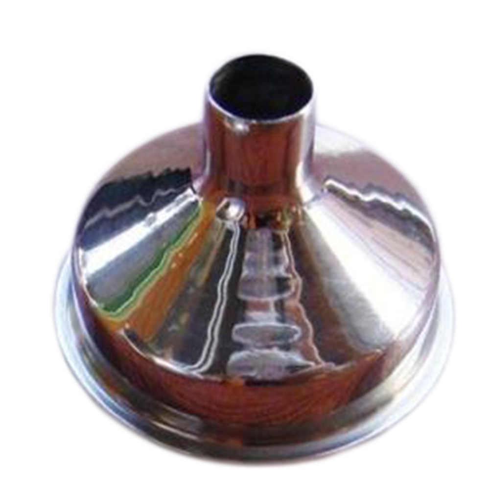 1 pieza de embudo de cocina de acero inoxidable tolva de aceite utensilios para filtro de cocina para colocar botellas pequeñas contenedores de olla de vino