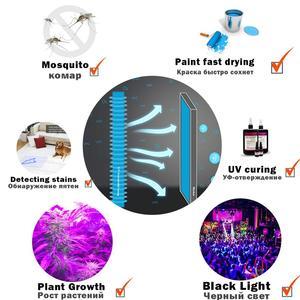 Image 5 - 365nm Led UV GEL Curing Lamp Printing Machine Glass Ink Paint Silk Screen Printing Version Ultraviolet Cure UVA Black Light