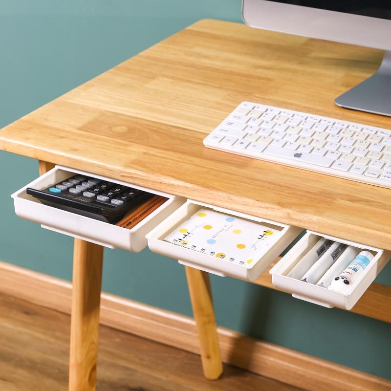 Boîte de rangement organisateur de bureau poinçon gratuit trousse de papeterie plateau à crayons porte-stylo bureau papeterie boîte de rangement accessoires de bureau