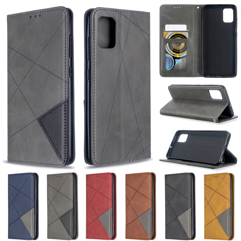 For <font><b>Samsung</b></font> Galaxy A51 A71 <font><b>A50</b></font> S <font><b>Cover</b></font> Shockproof <font><b>Flip</b></font> Leather Magnetic Case for Galaxy A70 A40 A10S A20S PU Bumper Phone Case image