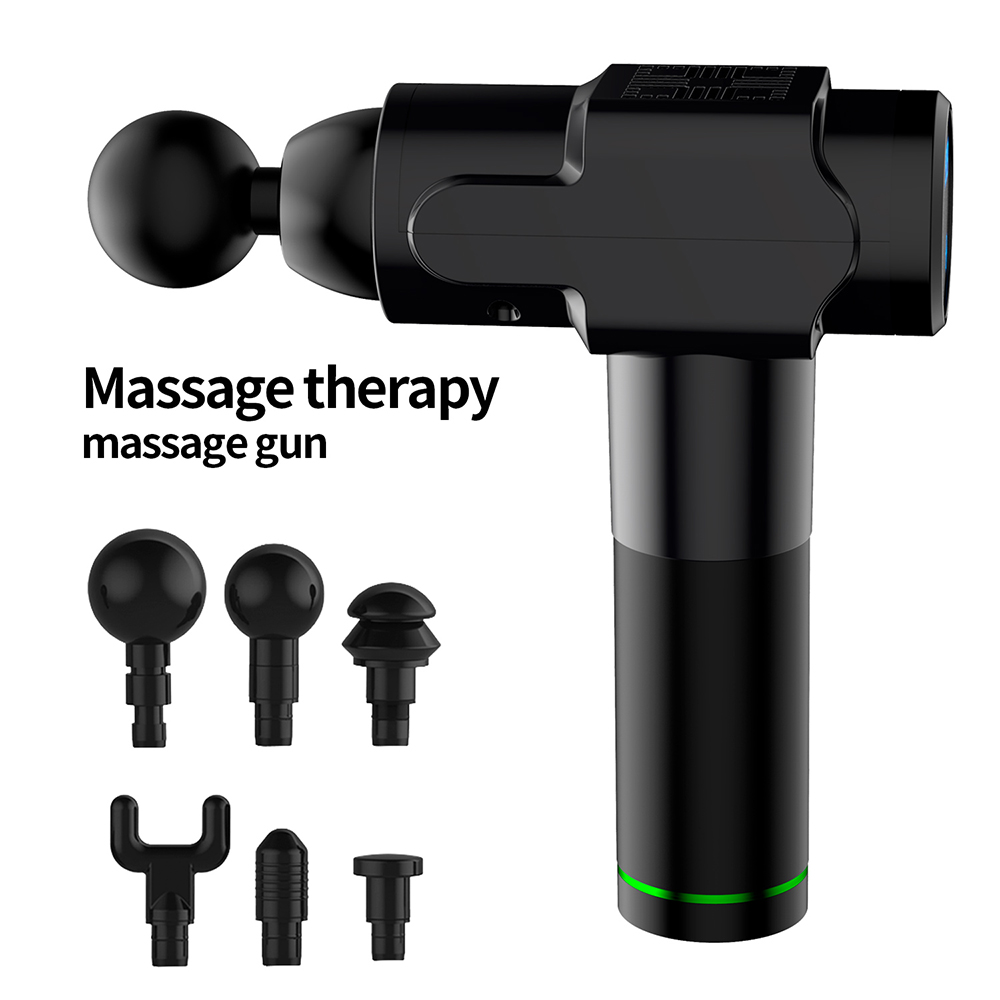 Massage Gun Deep Muscle Massager Muscle Pain Body Massage Exercising Relaxation Slimming Shaping Pain Relief Muscle Stimulator