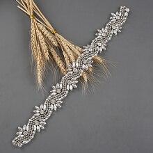 Пояс TRiXY S282 Алмаз пояса свадебные Sash женская горный хрусталь невесты невесты пояса свадебные свадебные