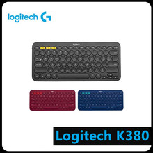 Logitech K380 Multi-Device Bluetooth Keyboard for Windows MacOS Android iOS Computer Peripheral