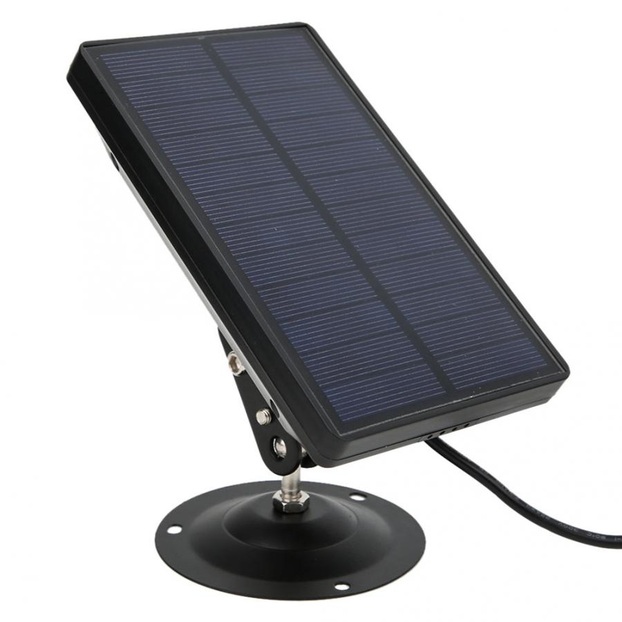 Solar Panel Charger External Powered Power Supply For 9V 12V Hunting Camera Photo Traps HC900 HC801 HC700 HC550 HC300