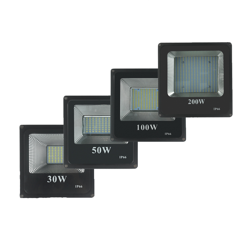 LED Flood Light 10W 30W 50W 100W 200W LED Spotlight 220V Waterproof IP65 IP66 Floodlight Outdoor Lighting Warm Cold White