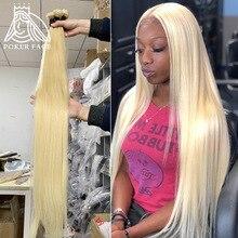 Poker Face 613 Color Straight 1 3 4 Bundles Brazilian Human Hair Weave