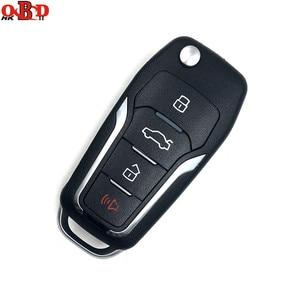 Image 2 - Xhorse vvdi2 chave de carro universal, chave remota de 4 botões para ford mini programador vvdi, ferramenta chave, max, versão em inglês, com 10 peças xkfo01/xefo01en