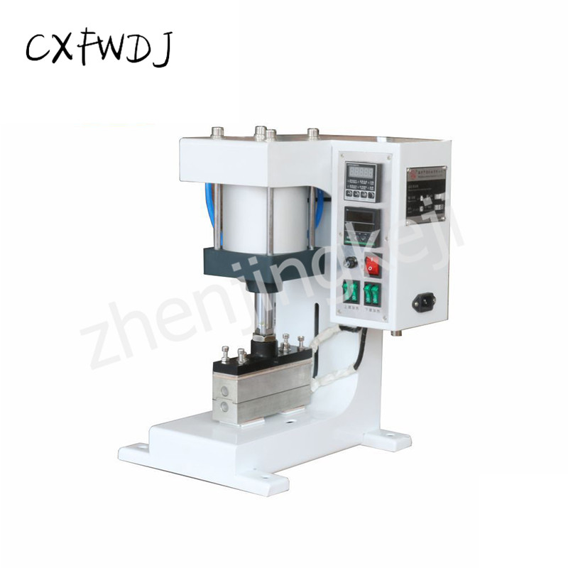ZY-819G flattening Machine up and Down Heating 220V/50HZ Creasing Machine Elastic Pneumatic Hot Stamping Machine 1600W