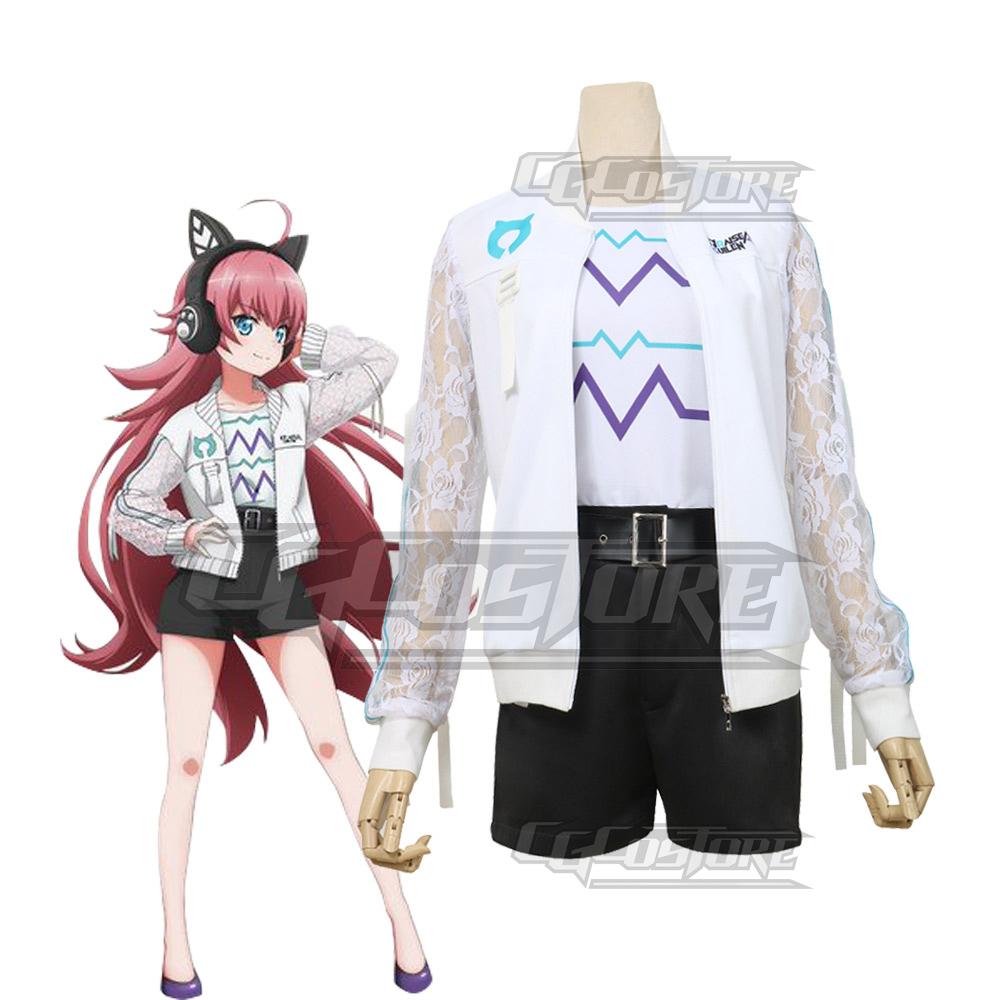 Cosplay Costume Anime Bang Dream! Tamade Chiyu RAISE A SUILEN Dresses Christmas Halloween Free Shipping CG528