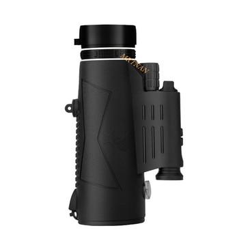 Lornetka pojedyncza 12X50 Zoom lornetka pojedyncza lornetka z przezroczystą kieszenią nadaje się do wędrówek na zewnątrz lornetka myśliwska tanie i dobre opinie 50MM 22MM 122M 1000M CN (pochodzenie) Monokularowy IPX7 BAK4 vfrdht Metal CENTRAL