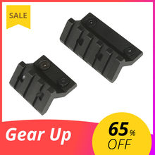 Offset Mount Airsoft Keymod Offset Light Optic 20mm Picatinny Rail Mount For M300 M600 Tactical Scout Flashlight Accessories