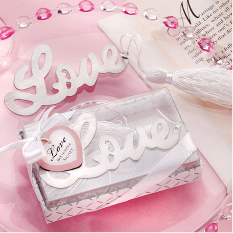 Manufacturers Wholesale Metal Hollow Out Bookmark LOVE Lettered Bookmark Set Anniversary Creative Gifts Special Offer Promotion