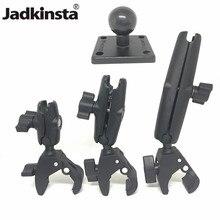 Jadkinsta Tough Klaue Montieren mit Doppel Buchse Arm und Runde AMPS Basis Adapter für 1 Zoll Montieren Gadgets Erweiterung arm