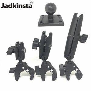 Image 1 - Jadkinsta sert pençe dağı ile çift soket kolu ve yuvarlak amper bankası adaptörü için 1 inç montaj araçlar uzatma kol