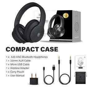Image 5 - Oneodio A40 Draadloze Hoofdtelefoon Active Noise Cancelling Bluetooth Hoofdtelefoon V5.0 Anc Headset Met Microfoon Voor Telefoon Over Oor