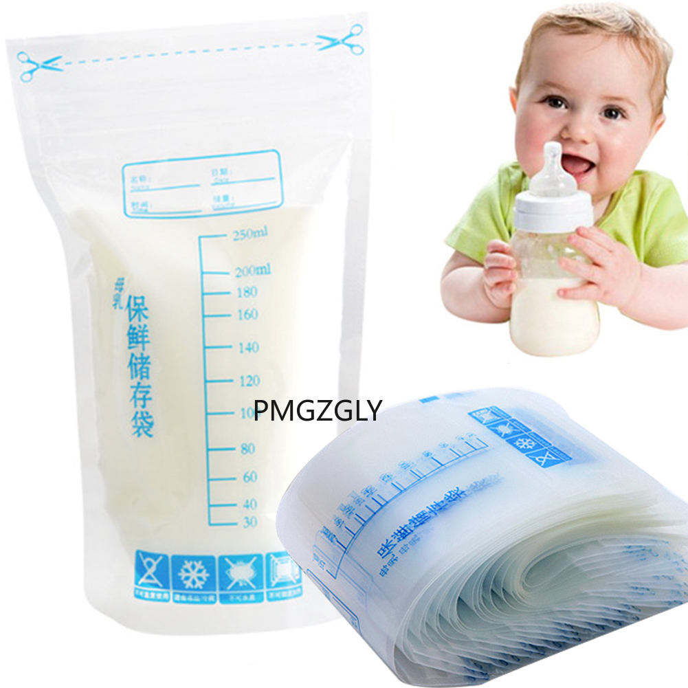 Freezer-Bag Food-Storage Disposable-Labels Feeding Baby Safe 30pcs