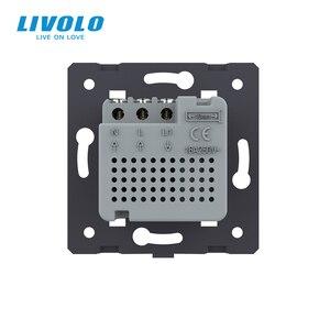 Image 5 - Livolo Thermostat, contrôle de température Standard ue (sans panneau en verre), dispositif de chauffage, prise 110 250V AC C7 01TM 11