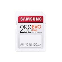 SAMSUNG EVO SD Carte Mémoire 128GB 32GB 64GB 256 GO C10 UHS-I Tarjeta Pour 4K et FHD Caméra Vidéo