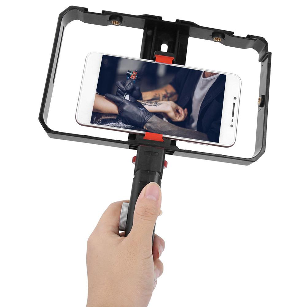 Filmmaking Case Phone Video Stabilizer for Video Maker Film-Maker for iPhone Samsung Xiaomi Smartphone Photography Cage Rig