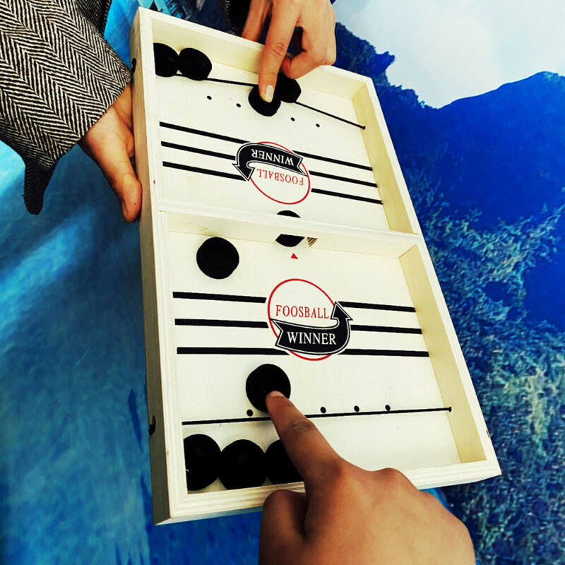 Catapult Chess Bumper Chess Parent-child Interactive Game Table Desktop Battle 2 In 1 Ice Hockey Game Toy Drop Shipping