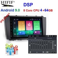 8 DSP IPS SCREEN Android 9.0 4G Car GPS For Mercedes Benz C Class W203 C200 C230 C320 CLK200 CLK350 CLK500 no dvd player