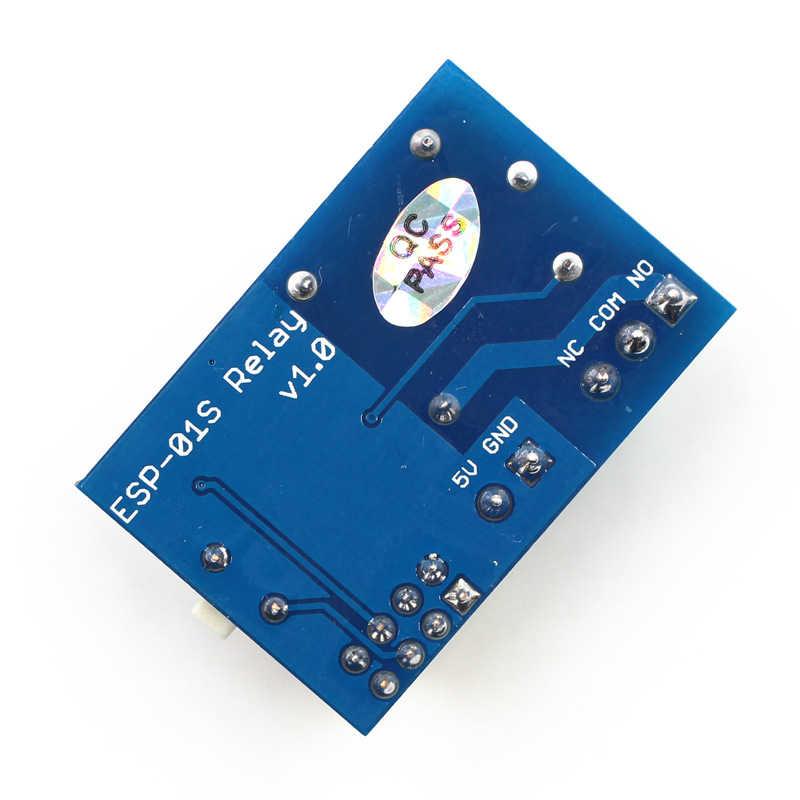 5 в WiFi релейный ESP-01S модуль вещи DIY умный дом пульт дистанционного управления Переключатель разблокировки для телефона ПРИЛОЖЕНИЕ ESP 01 беспроводной WIFI модуль TSFH