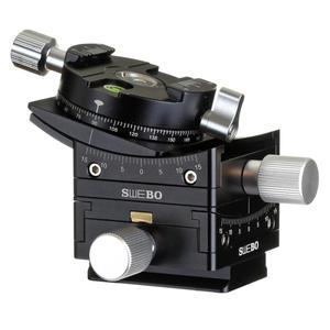 Точность выбора штатива с поворотной головкой 15 ° слайдер для строительства пейзажа панорамная съемка видео для камеры canon nikon sony